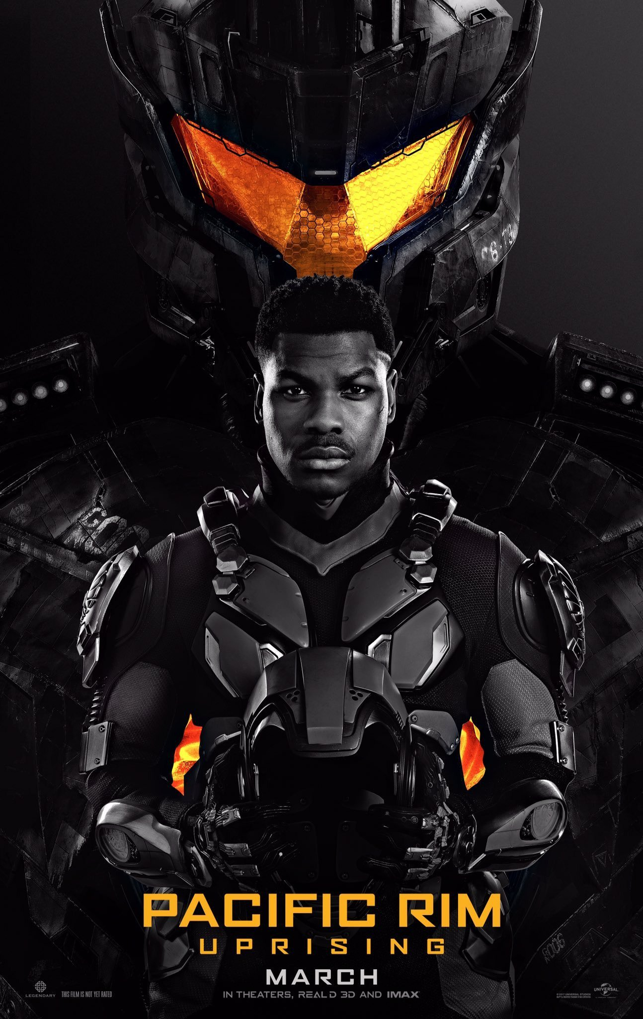 Poster of Pacific Rim: Uprising 3D