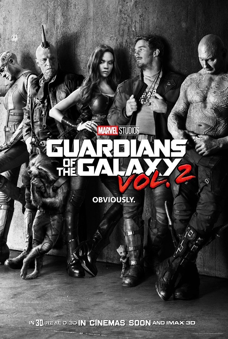 Poster of Guardians Of The Galaxy 2 3D