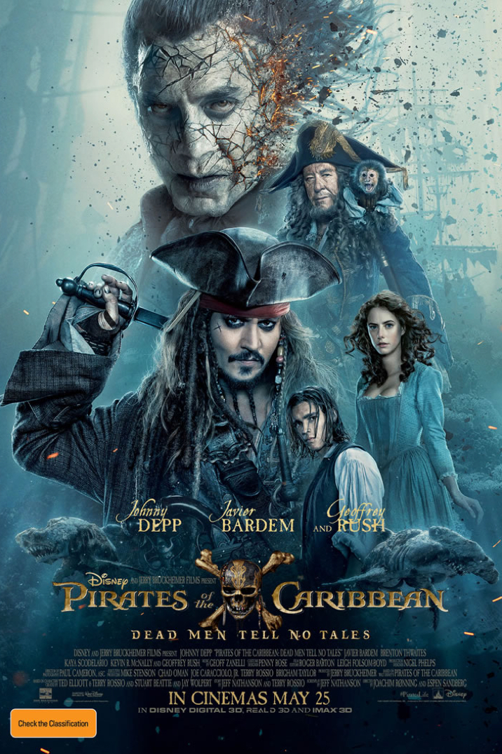 Poster of Pirates of the Caribbean: Dead Men Tell No Tales 3