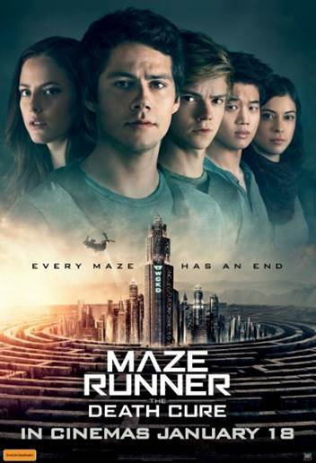 Poster of The Maze Runner: The Death Cure