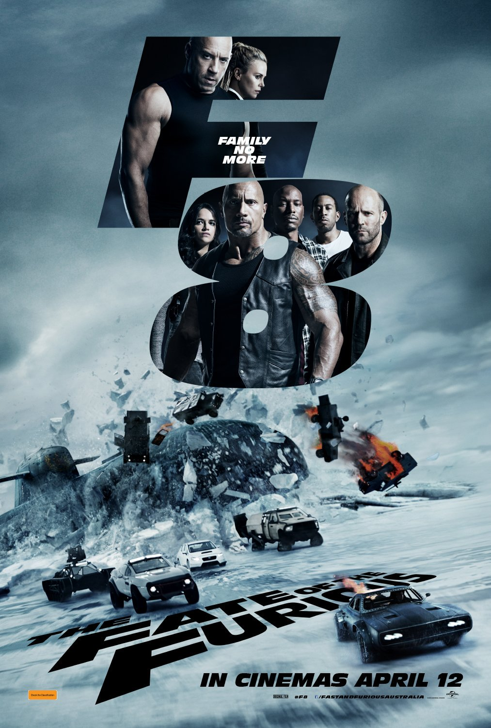 Poster of The Fate of the Furious