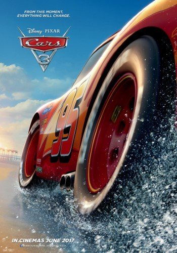 Poster of Cars 3