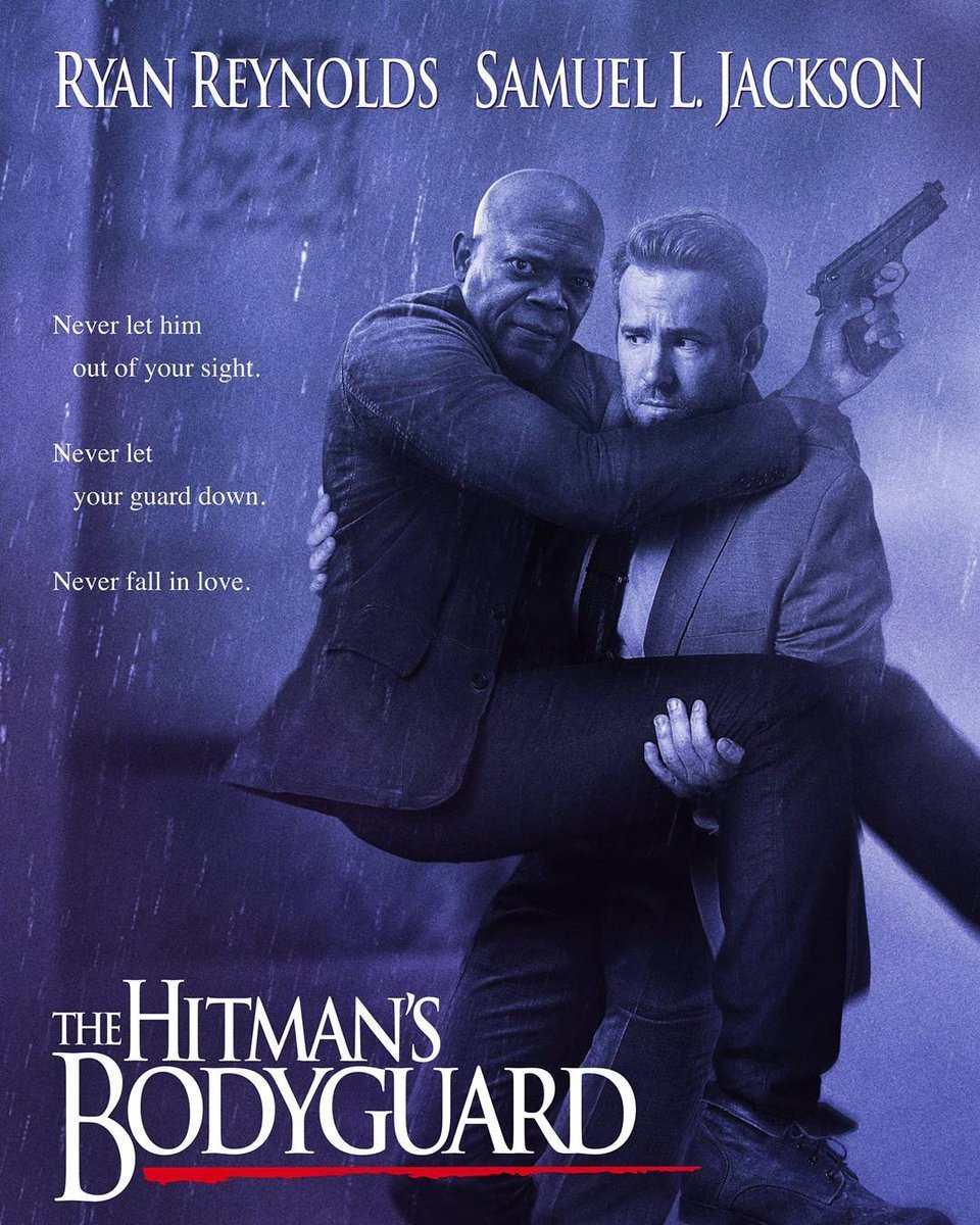 Poster of The Hitman's Bodyguard