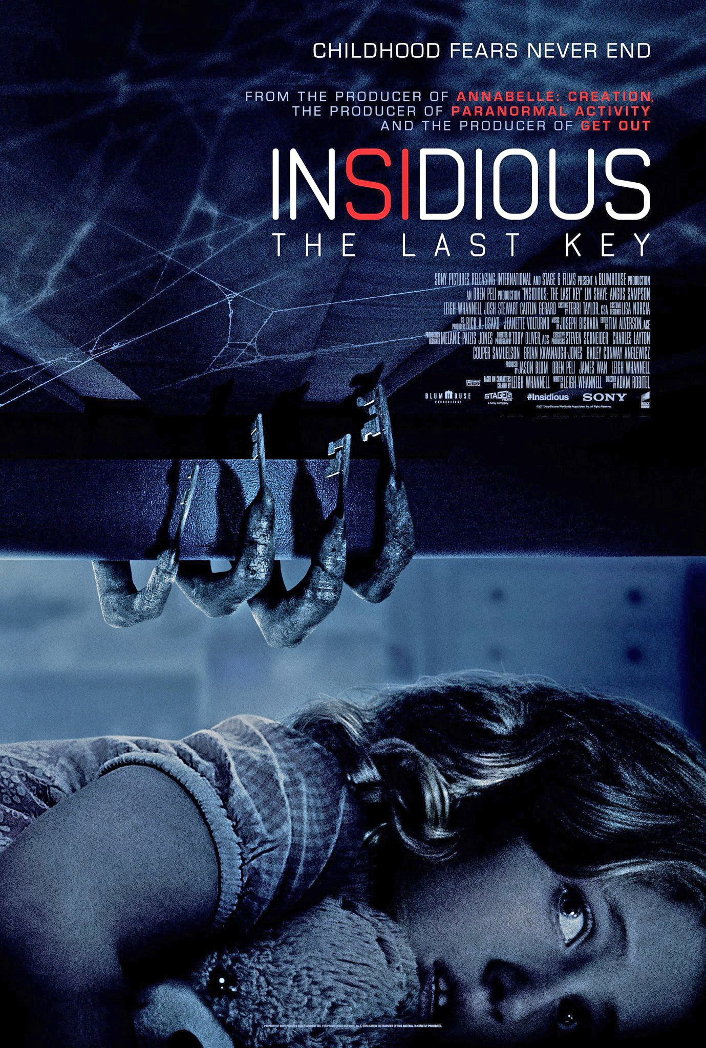 Poster of Insidious: The Last Key