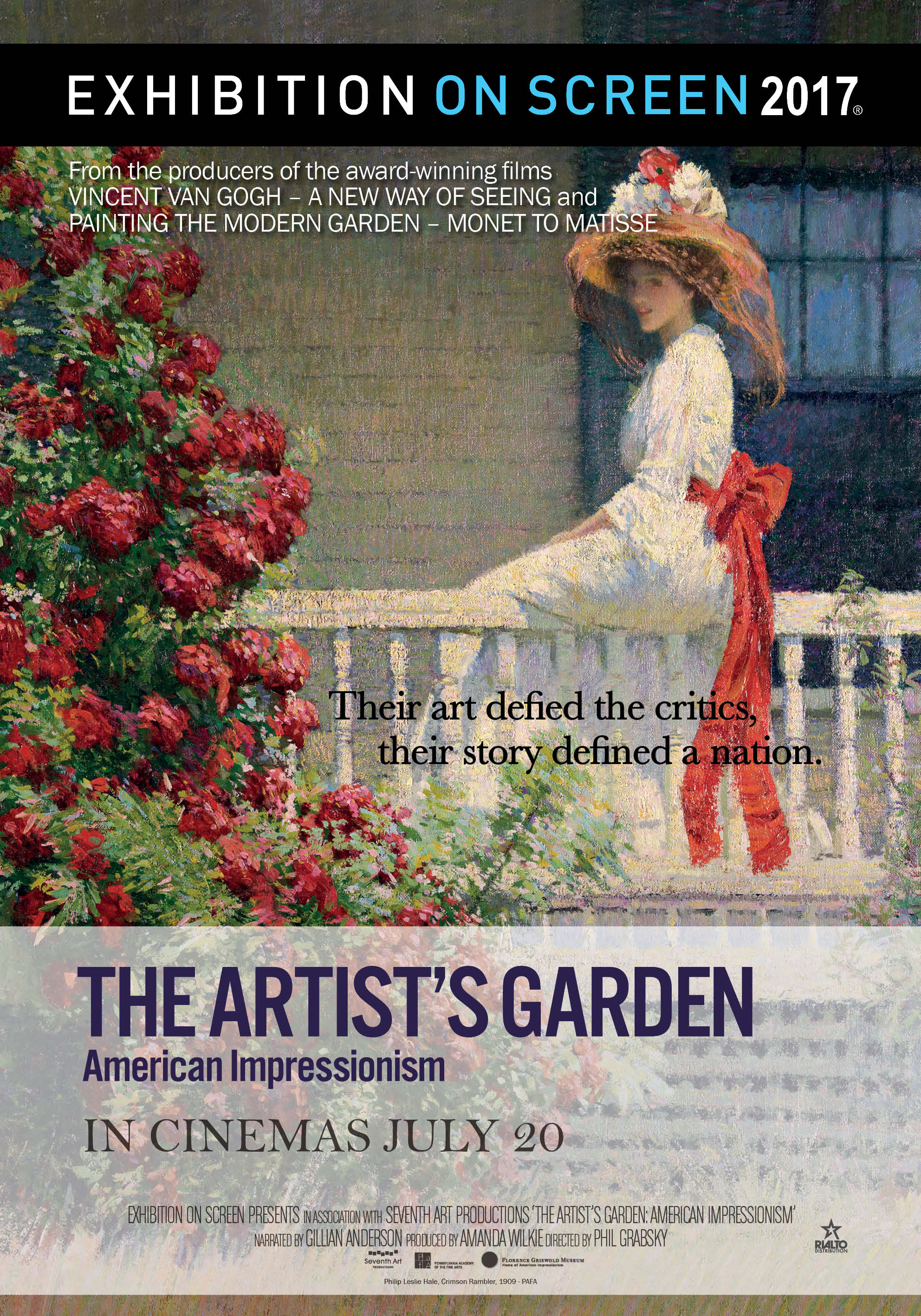 Poster of The Artist's Garden: American Impressionism
