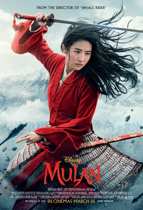 Poster of Mulan in Disney Digital 3D