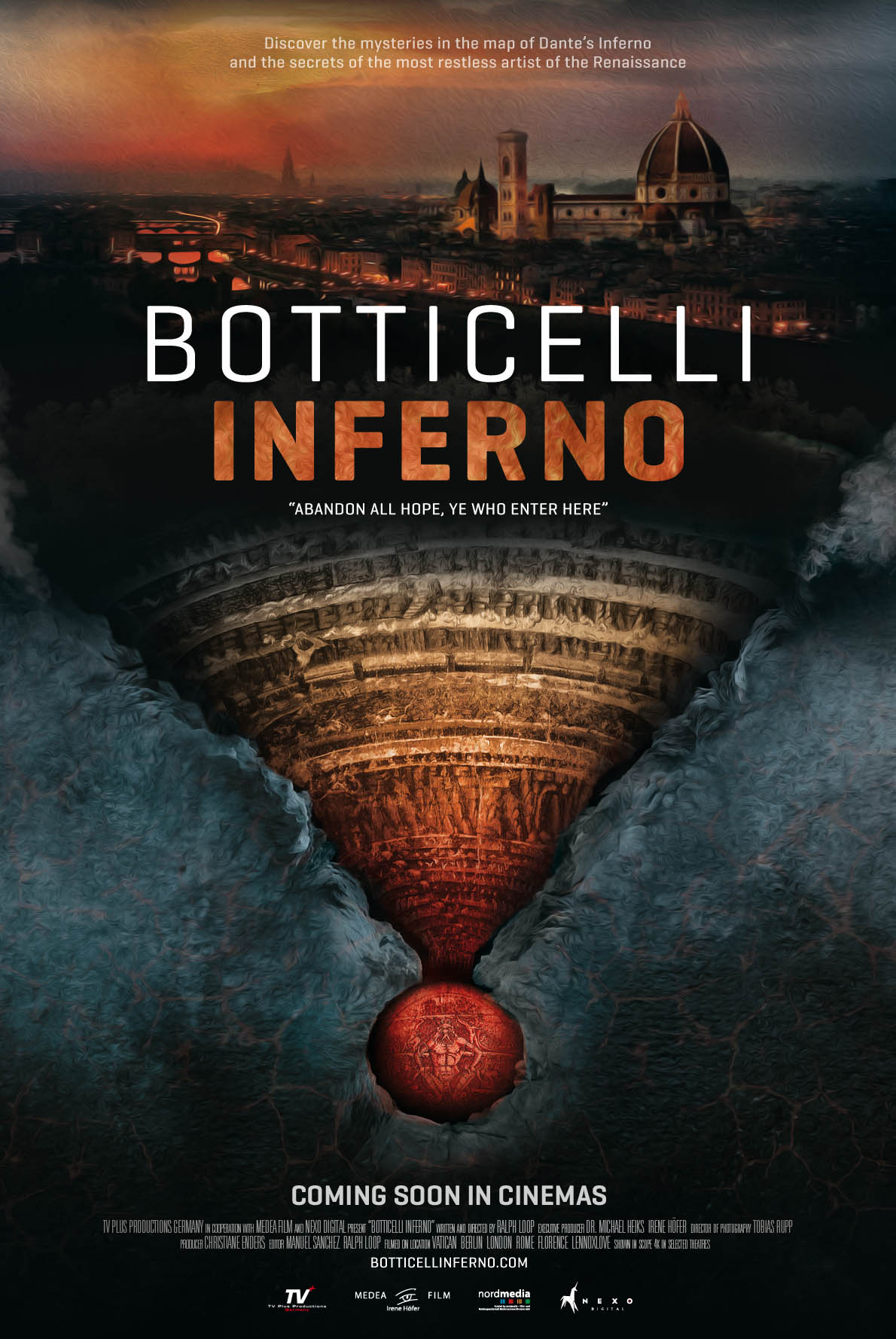 Poster of Botticelli - Inferno