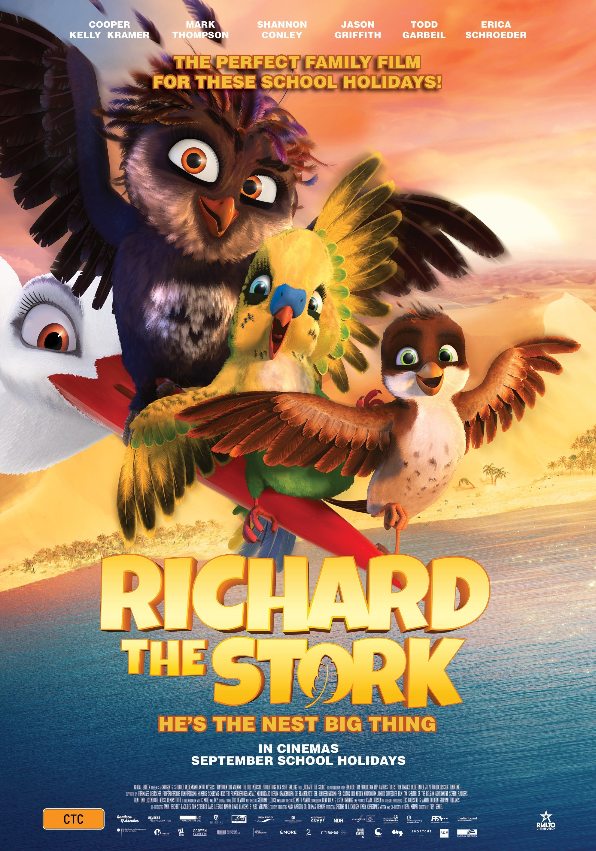 Poster of Richard the Stork