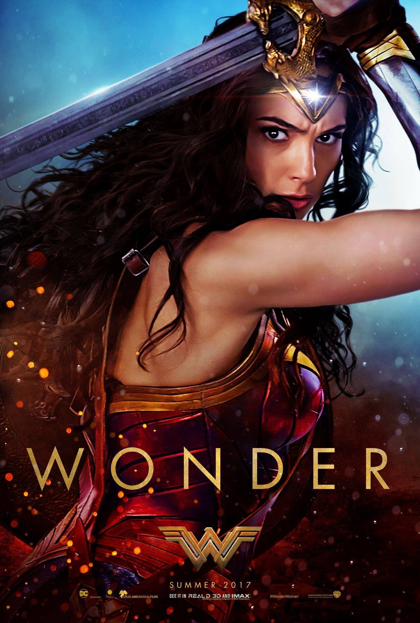 Poster of Wonder Woman 3D
