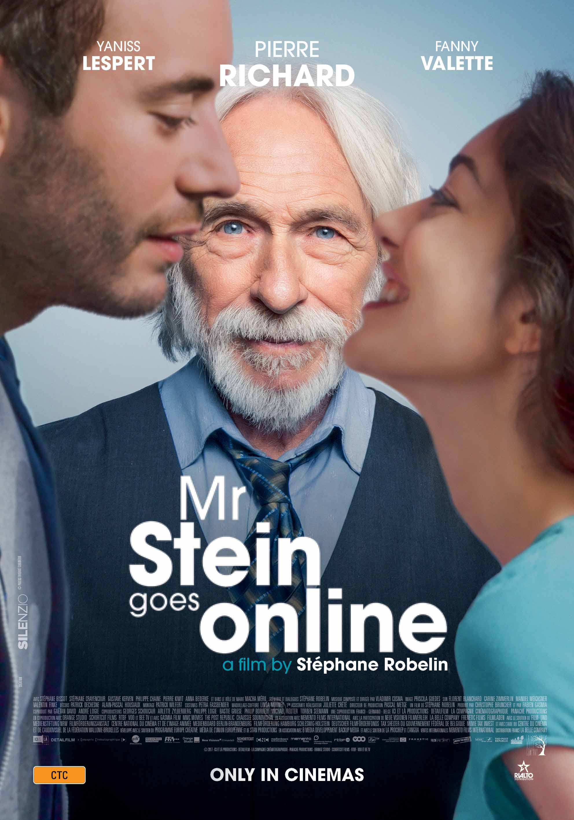 Poster of Mr. Stein Goes Online