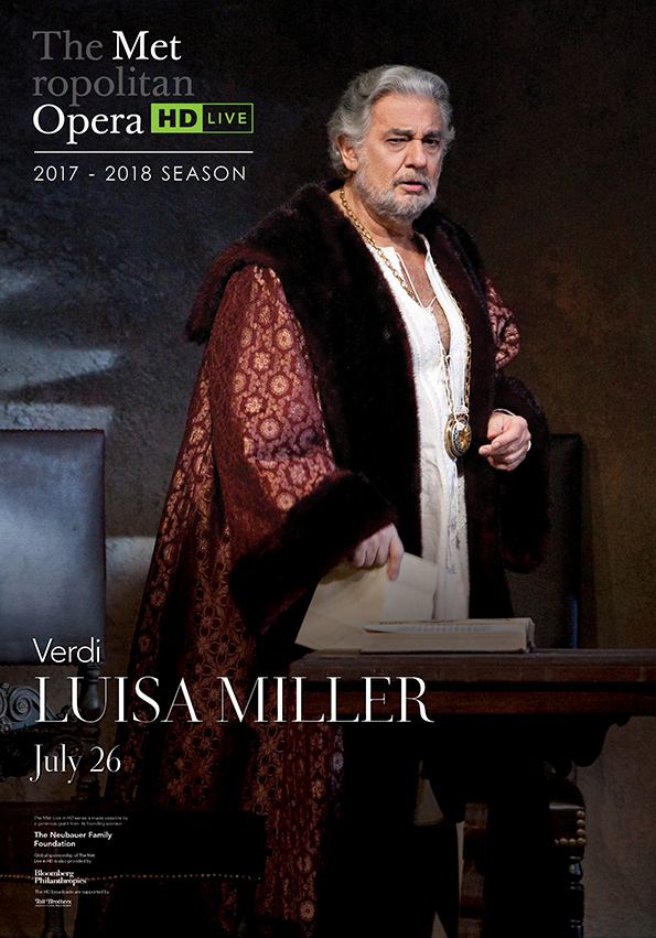 Poster of The Metropolitan Opera: Luisa Miller