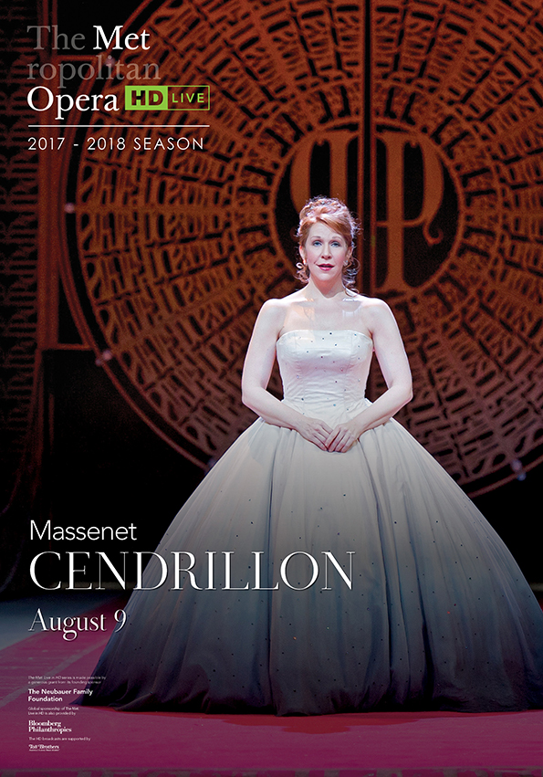 Poster of The Metropolitan Opera: Cendrillon