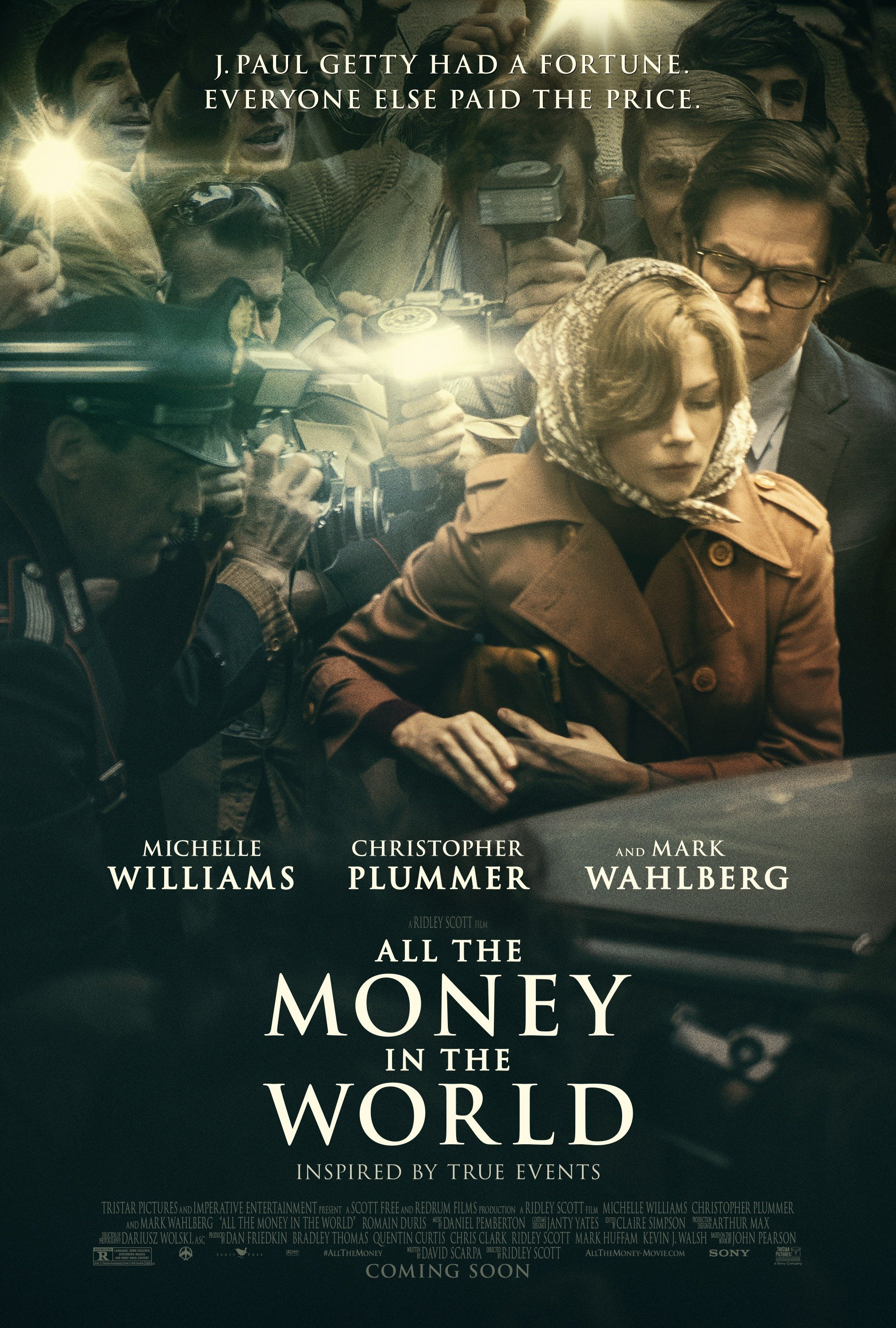 Poster of All the Money in the World