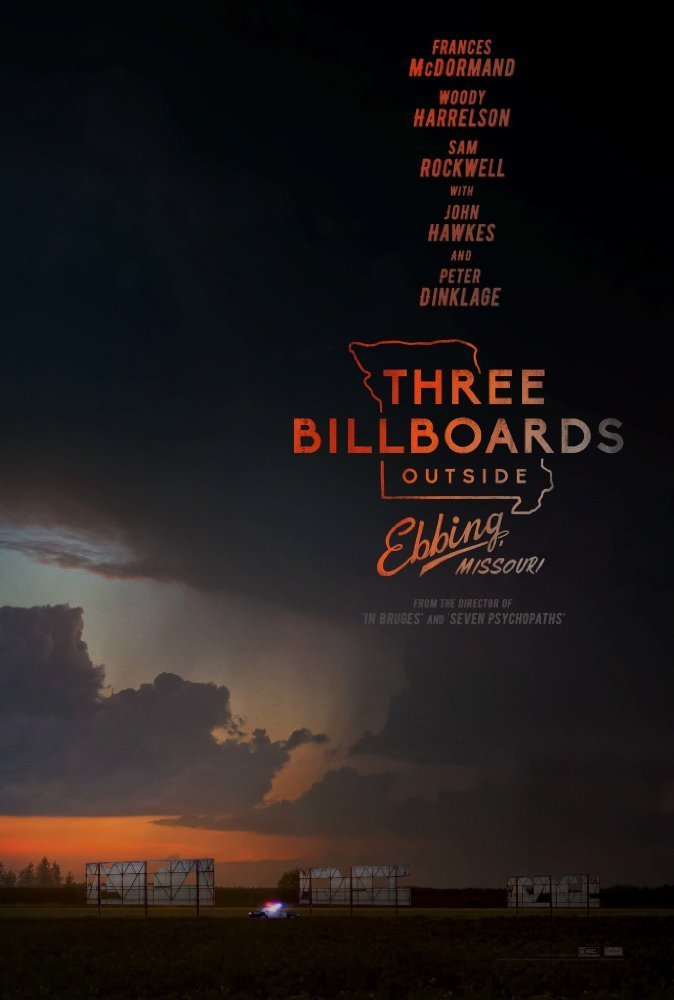 Poster of Three Billboards Outside Ebbing, Missouri