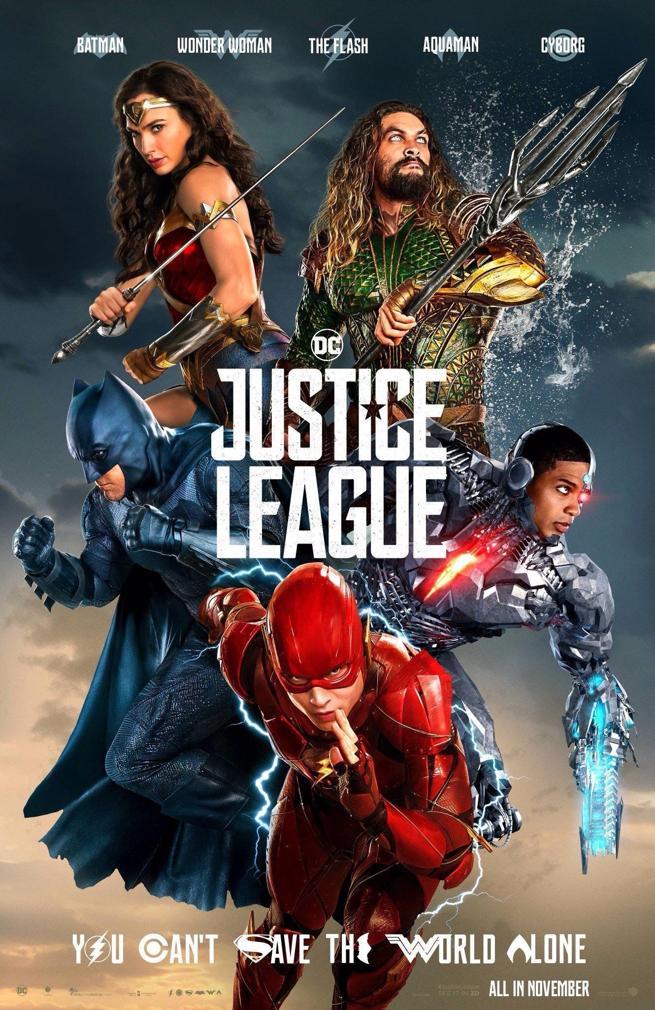 Poster of Justice League in 3D