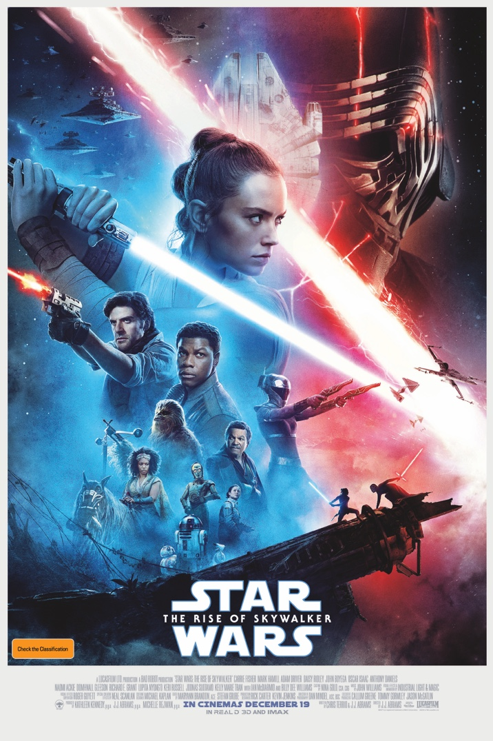 Poster of Star Wars: The Rise Of Skywalker