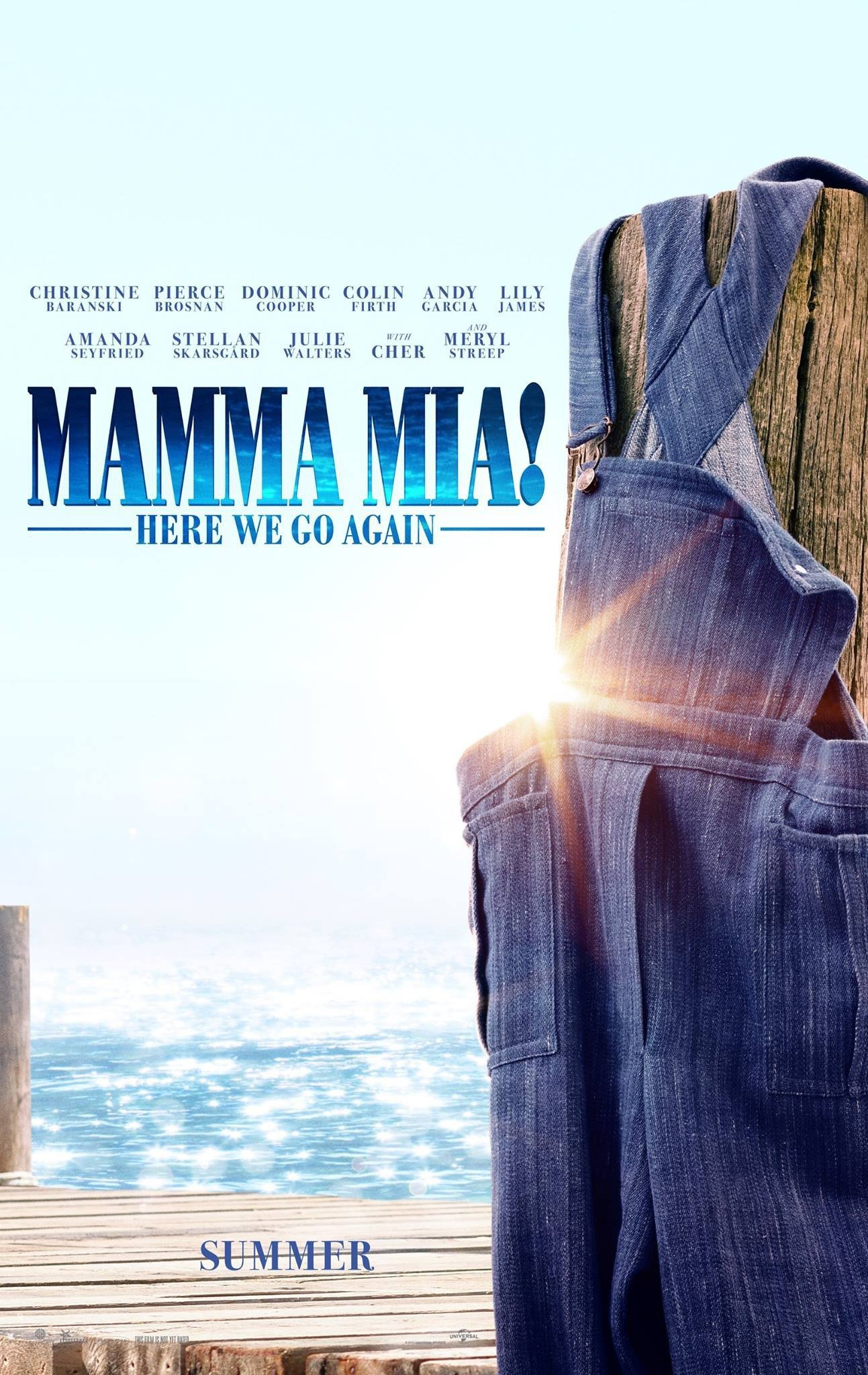 Poster of Mamma Mia! - Here We Go Again