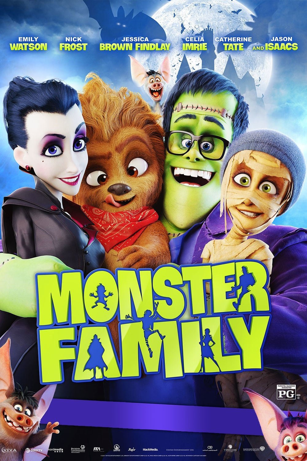 Poster of Monster Family