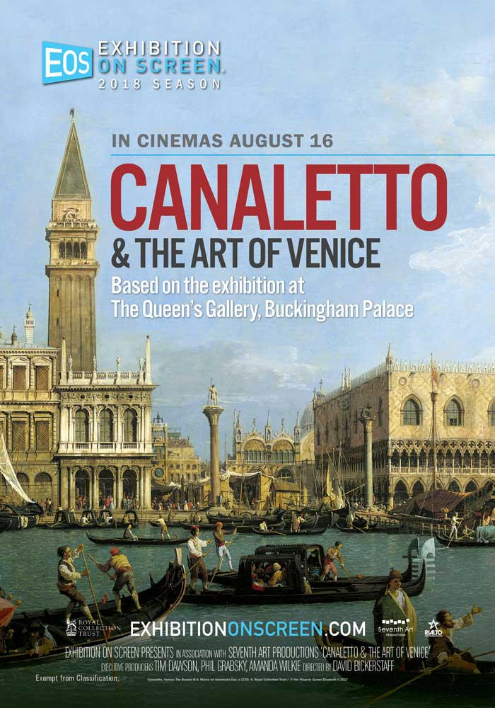 Poster of Exhibition On Screen: Canaletto