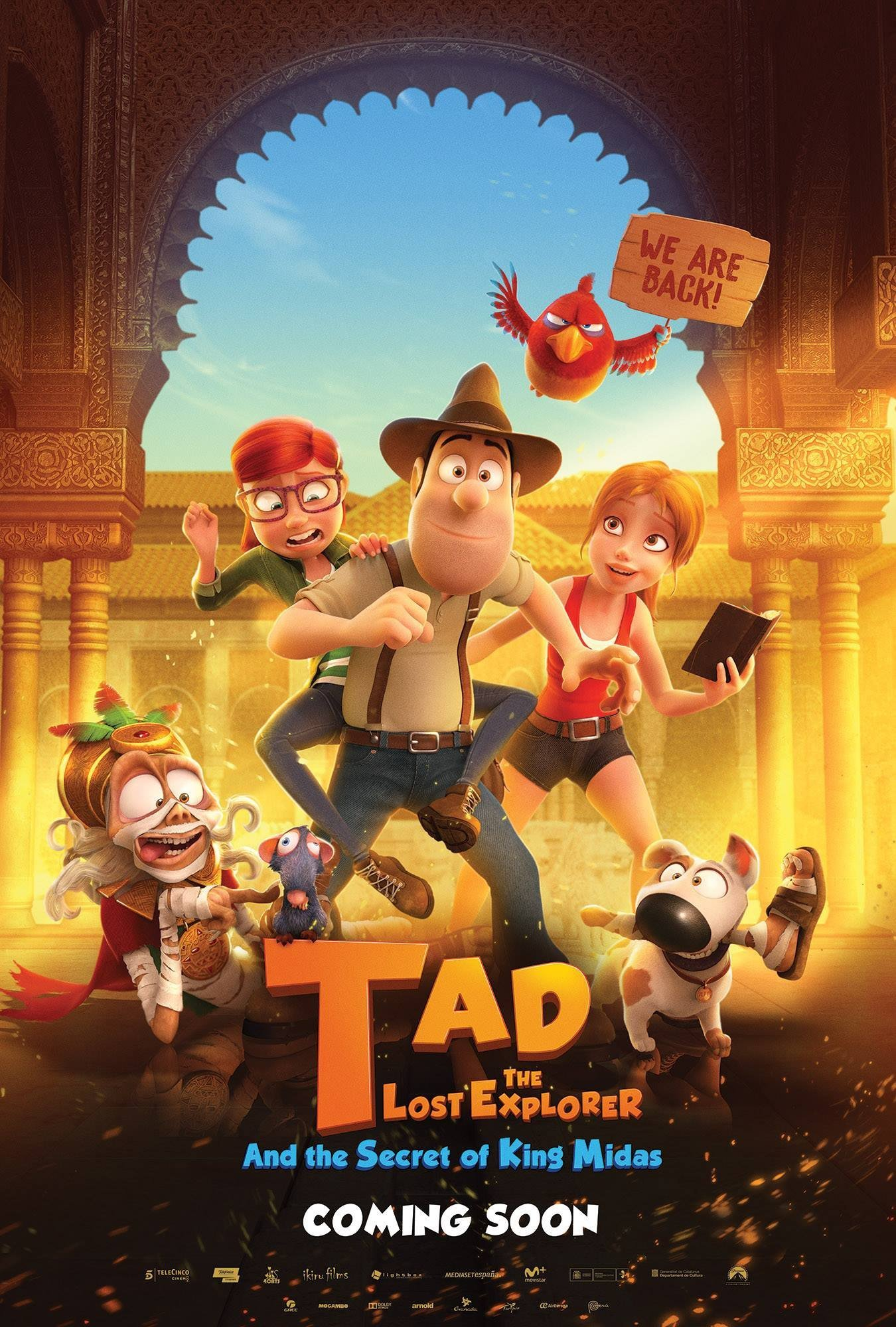 Poster of Tad the Lost Explorer and the Secret of King Midas