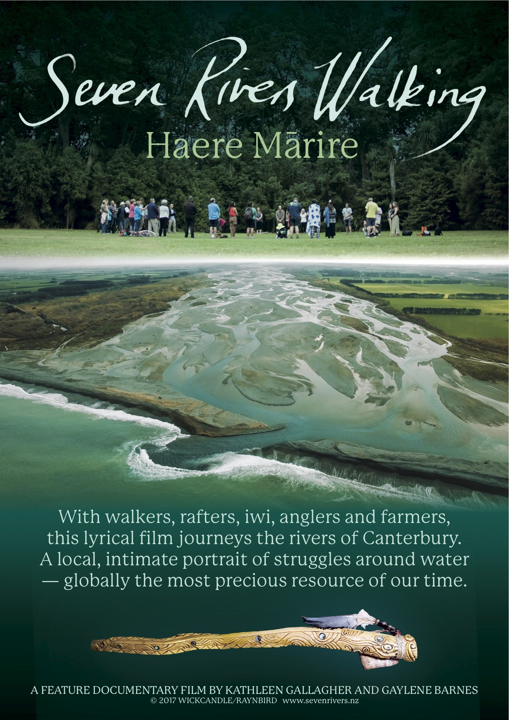 Poster of Seven Rivers Walking - Haere Marire