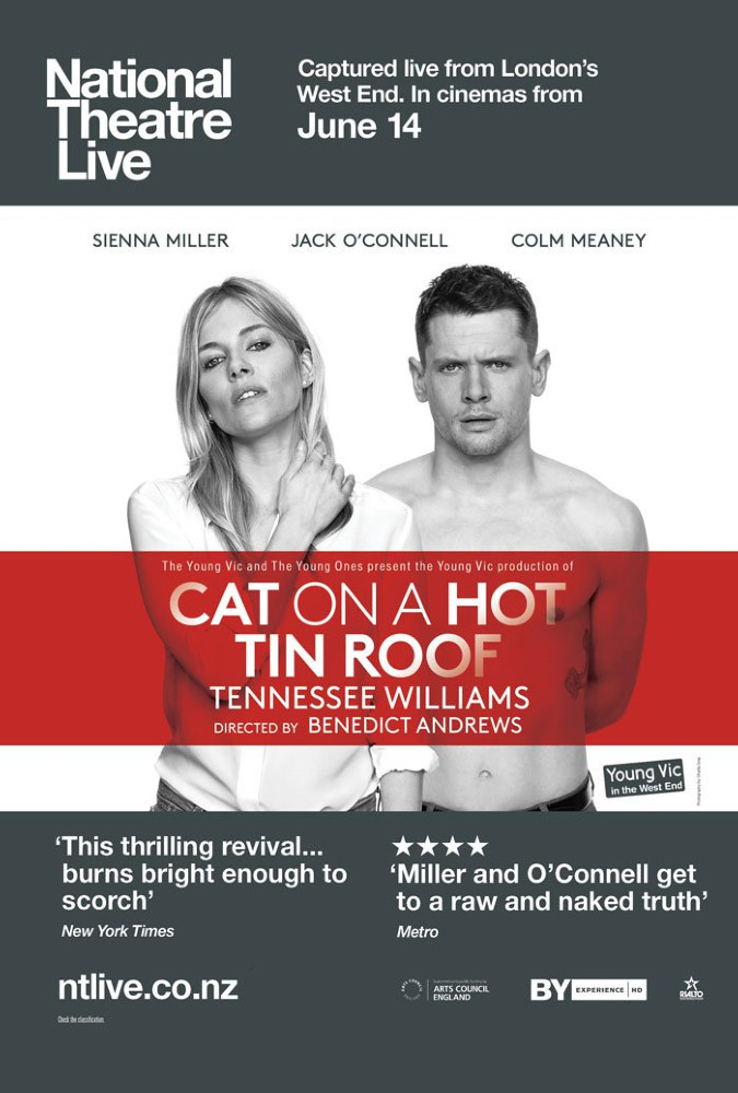 Poster of National Theatre Live: Cat on a Hot Tin Roof