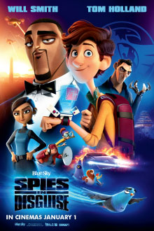 Poster of Spies in Disguise