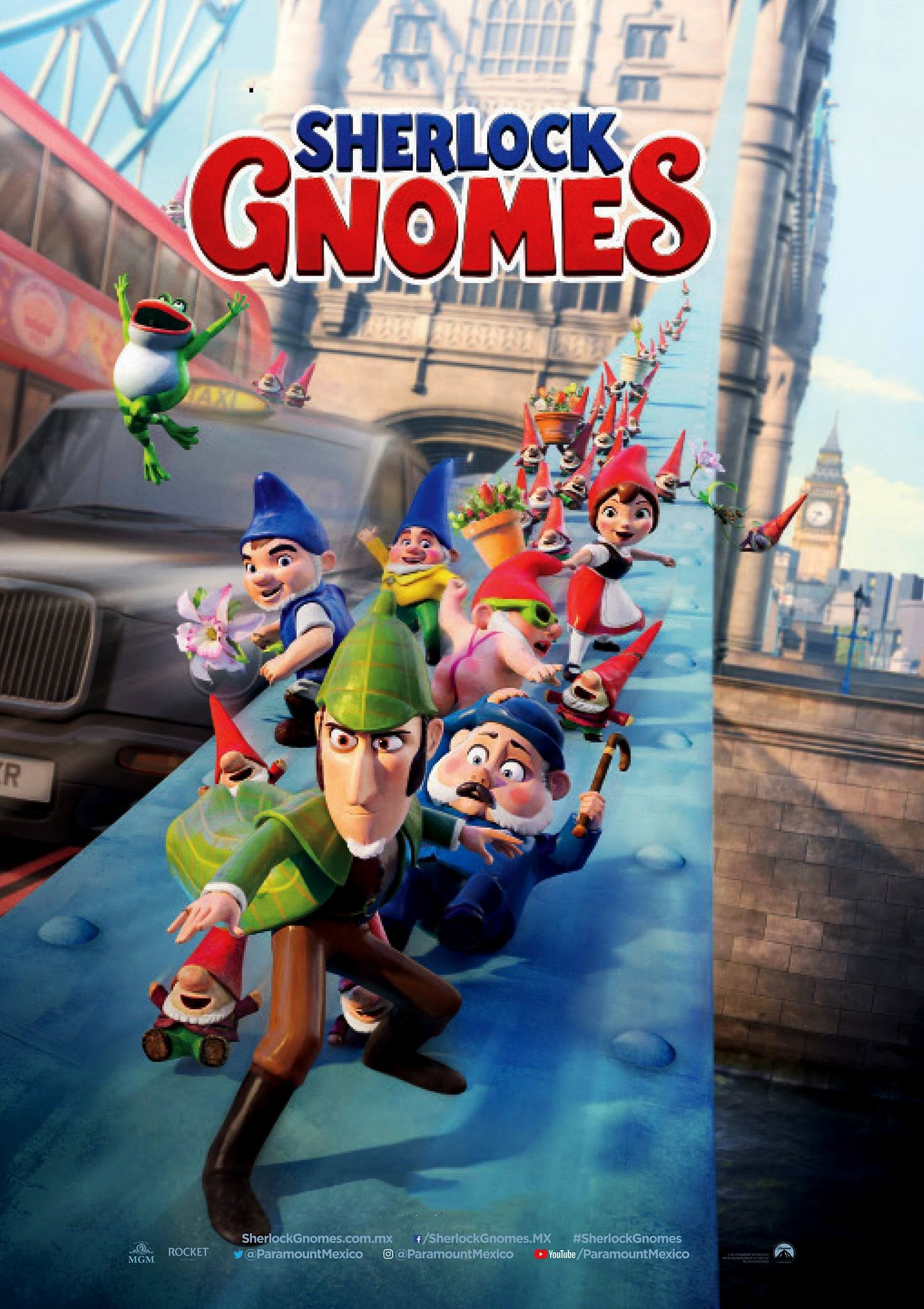 Poster of Sherlock Gnomes 3D