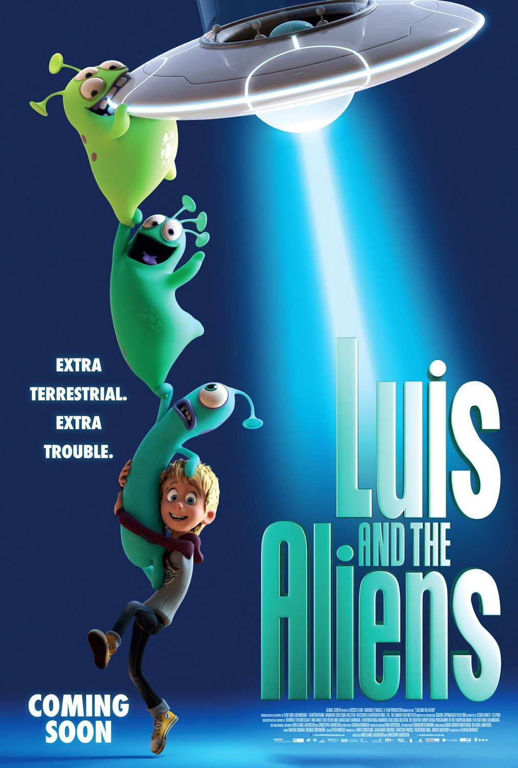 Poster of Luis and the Aliens