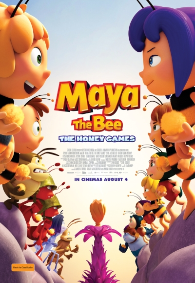 Poster of Maya The Bee: The Honey Games