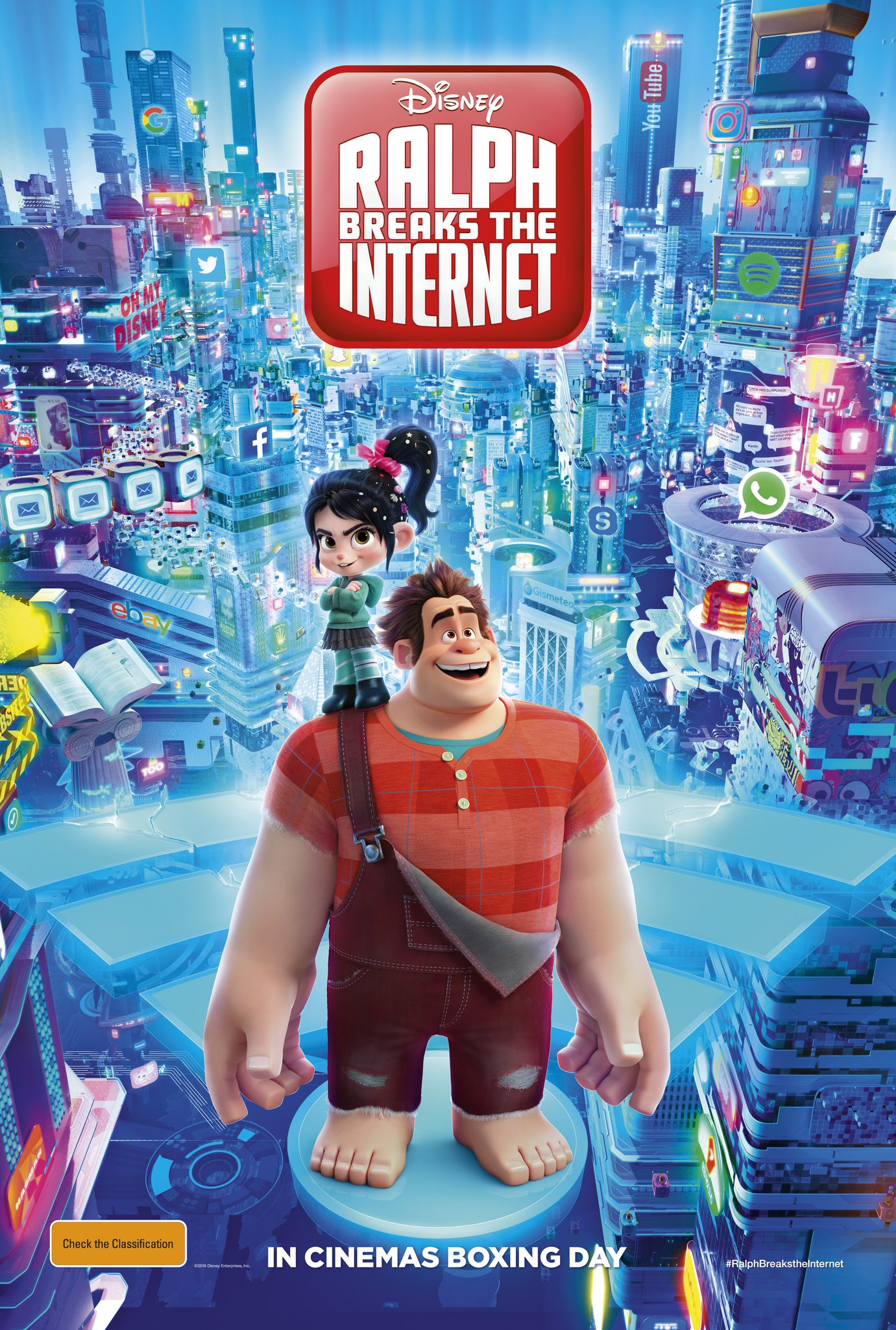 Poster of Ralph Breaks the Internet 3D