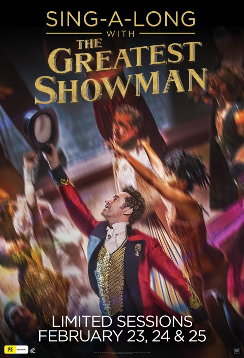 Poster of The Greatest Showman Sing-A-Long