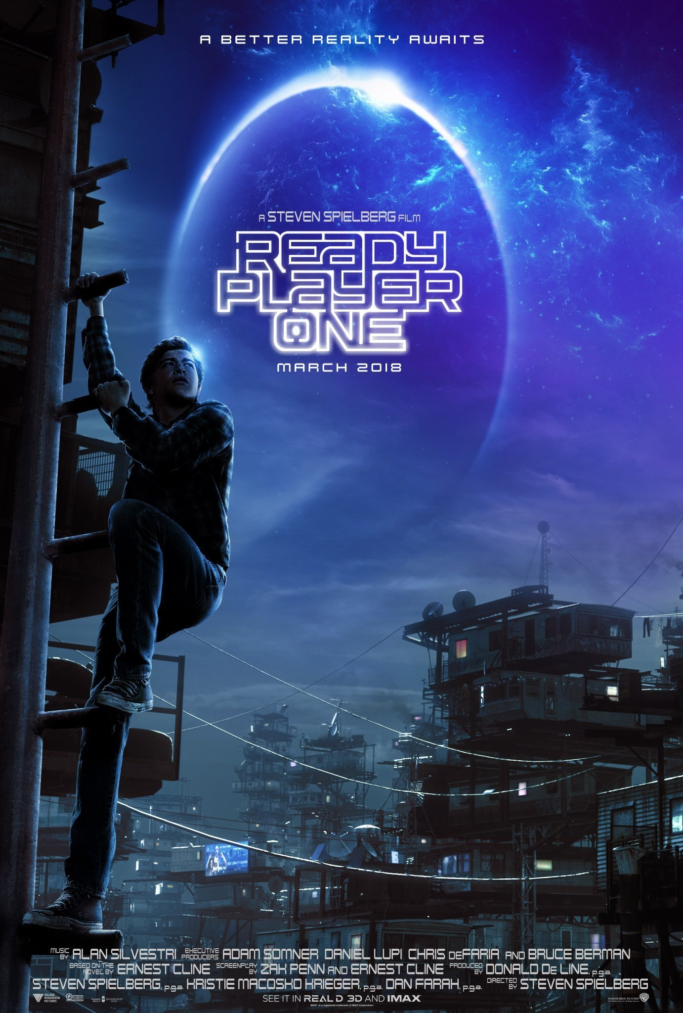 Poster of Ready Player One 3D