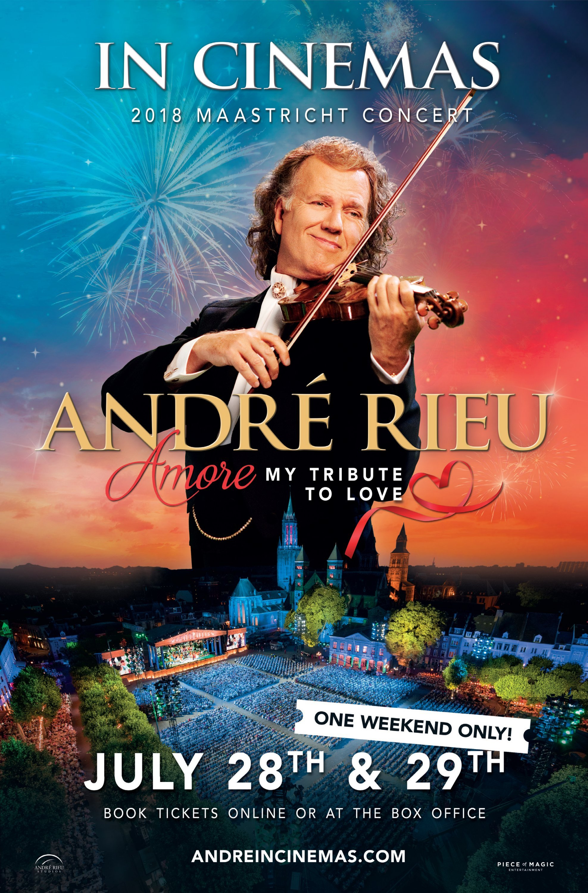 Poster of Andre Rieu's 2018 Maastricht Concert