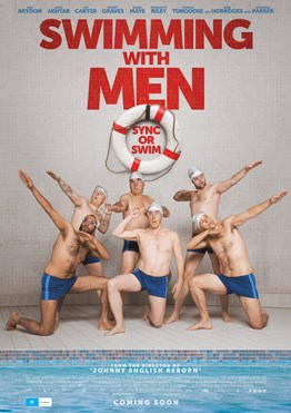 Poster of Swimming with Men