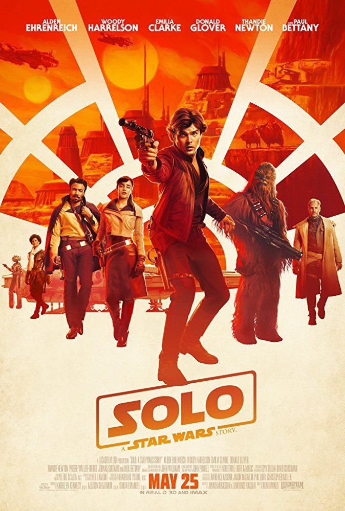 Poster of Solo: A Star Wars Story 3D