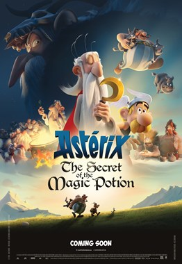 Poster of Asterix: The Secret of the Magic Potion