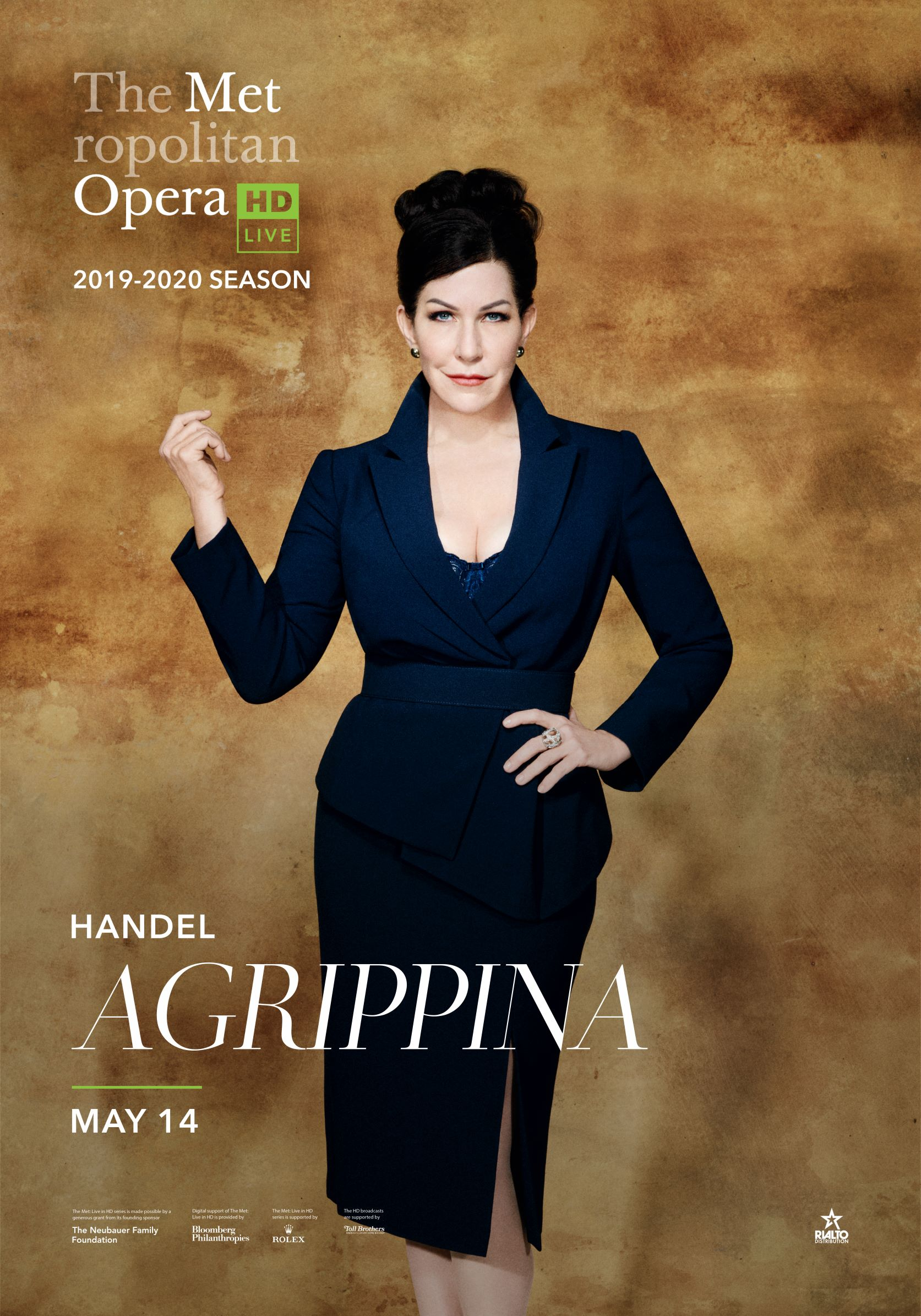 Poster of The Metropolitan Opera: Agrippina