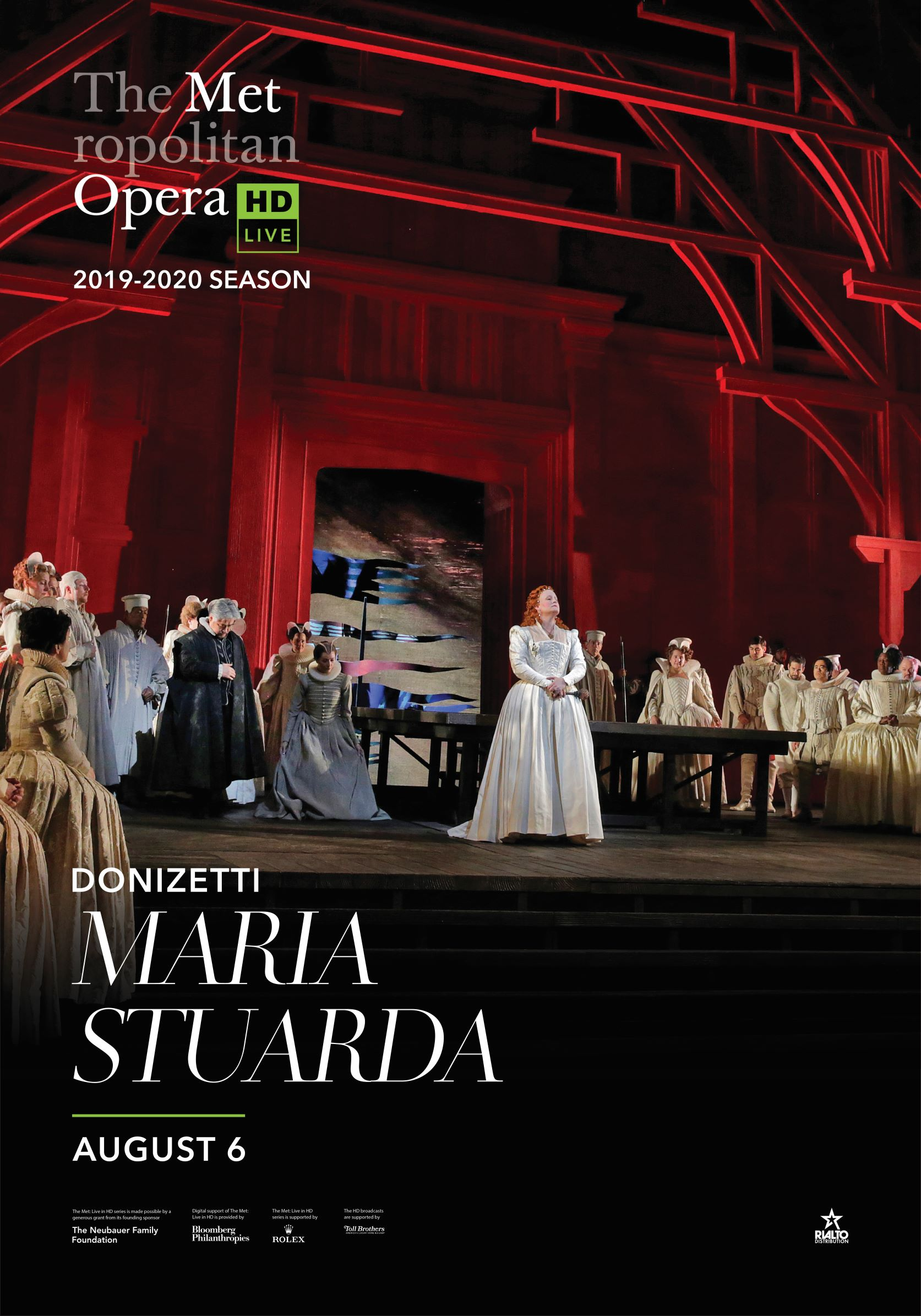 Poster of The Metropolitan Opera: Maria Stuarda