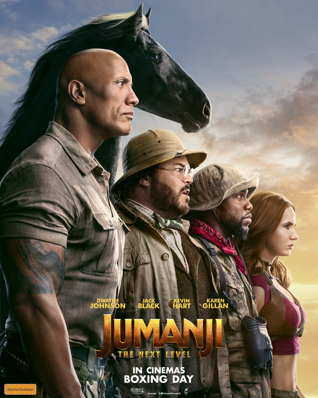 Poster of Jumanji: The Next Level 3D
