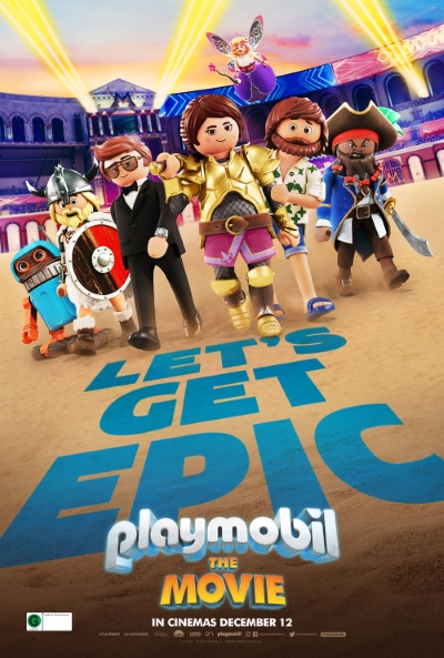 Poster of Playmobil: The Movie 3D