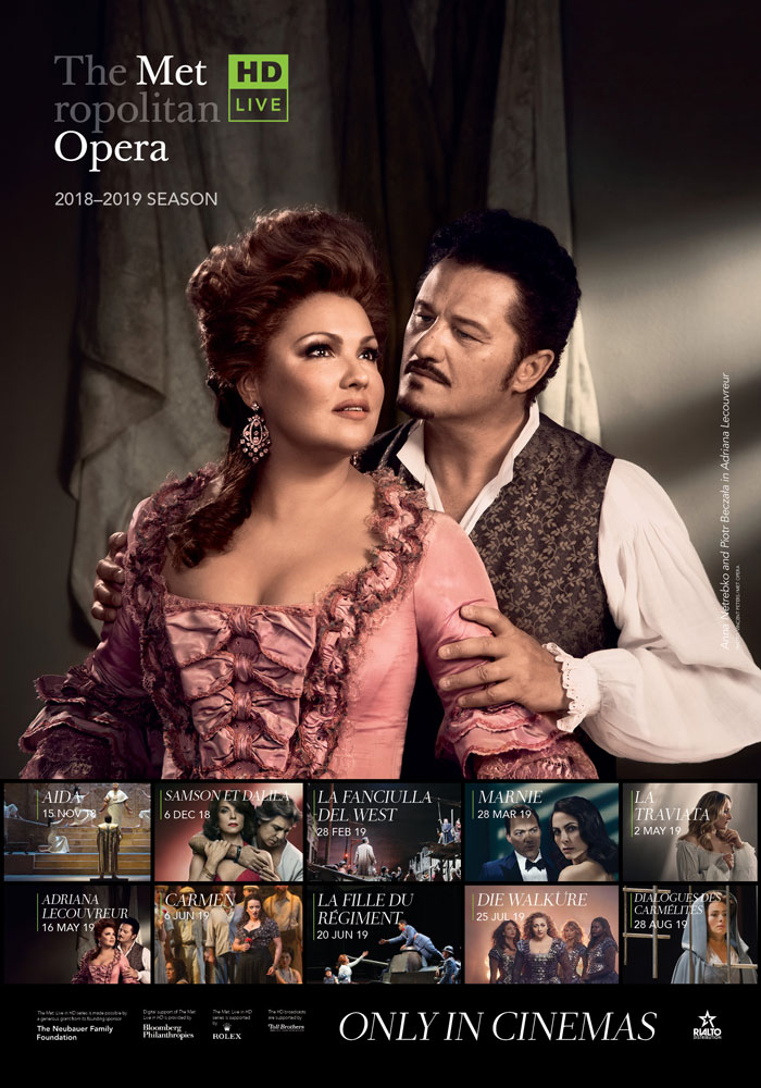 Poster of The Metropolitan Opera: Die Walküre