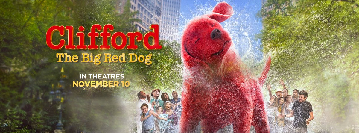 Slider Image for Clifford the Big Red Dog