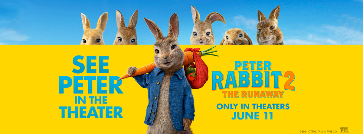 Slider Image for Peter Rabbit 2: The Runaway