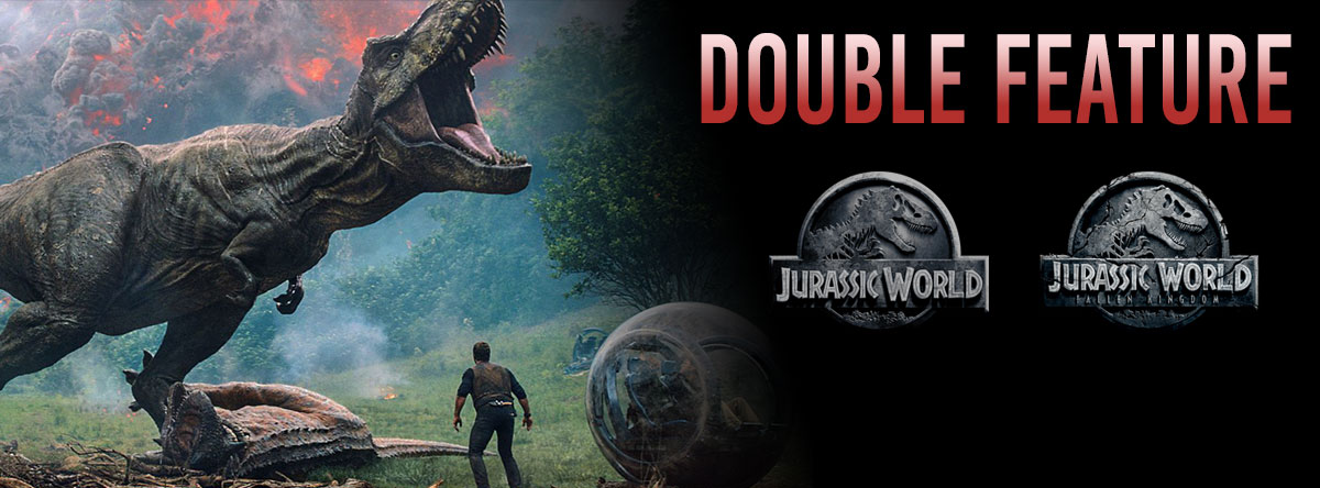 Slider Image for Jurassic World Double Feature