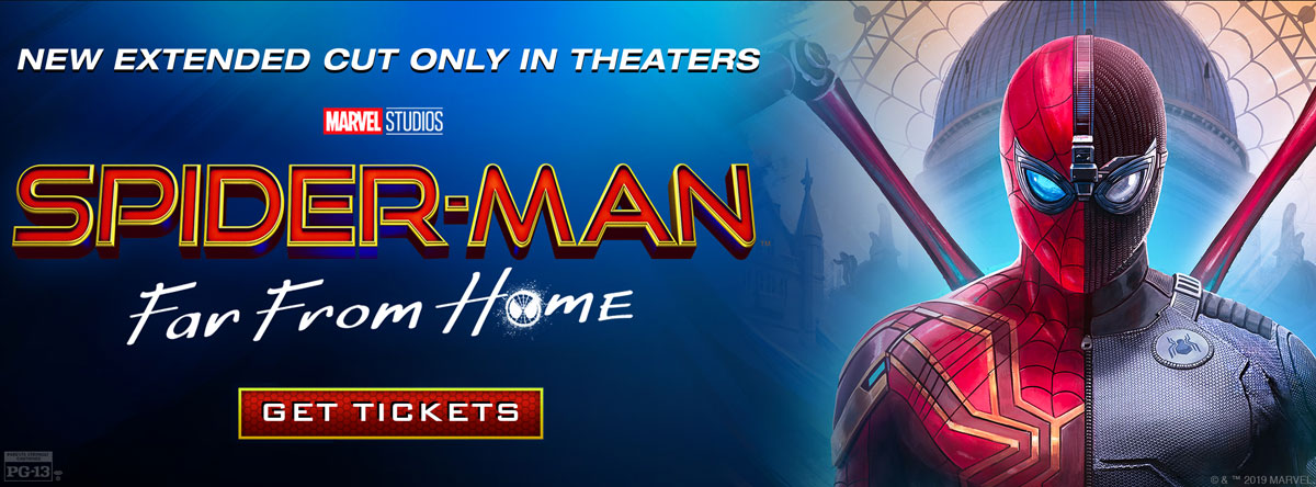 Slider Image for Spider-Man: Far From Home - Extended Cut