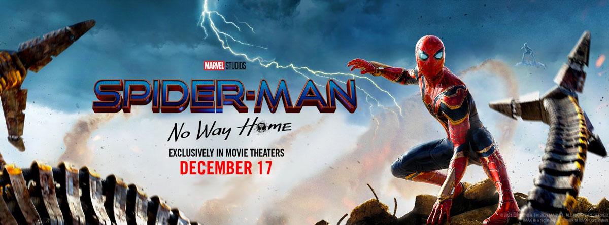 Slider Image for Spider-Man: No Way Home