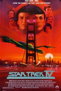 Poster for Star Trek IV: The Voyage Home