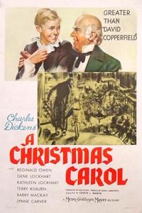Poster for Christmas Carol (1938), A