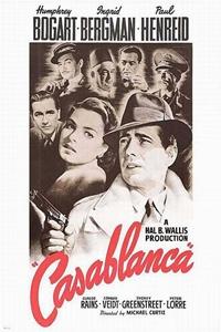 Poster for Casablanca (1942)
